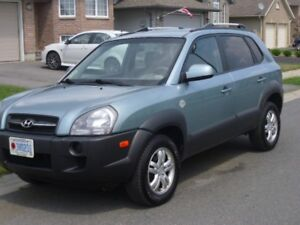 2008 Hyundai Tucson V6, one owner, Hwy Driven