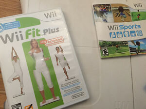 Wii Fit Plus with board