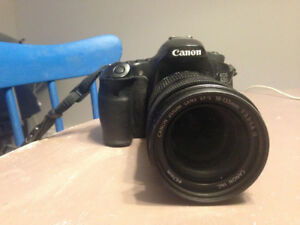 Canon 60D with 18-135mm Lens
