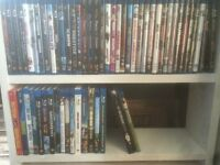 Blu ray movies and TV shows
