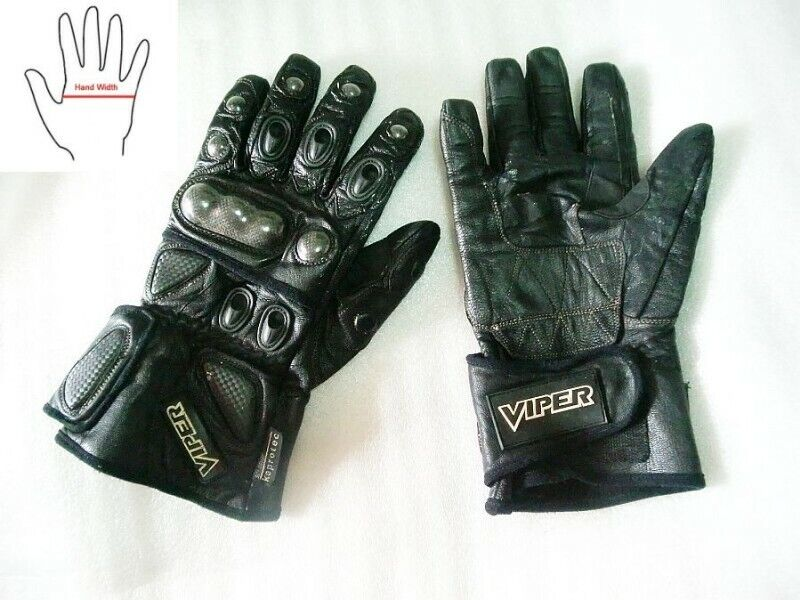 ~~~ ViPeR GeNuiNe LeaTheR GLoVeS (Size L) for BiKers $38 ~~~