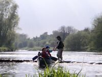 Canoe trip river Boyne Trim to Navan.