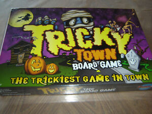 Tricky Town Halloween Board Game