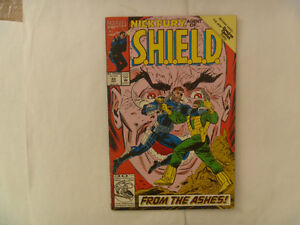NICK FURY, Agent Of S.H.I.E.L.D. Comics by Marvel
