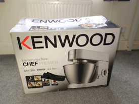 Kenwood Premier Chef KMC510 - Including AT337 Acrylic Liquidiser / Ble