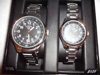 Matching Swiss Army Steel Watches