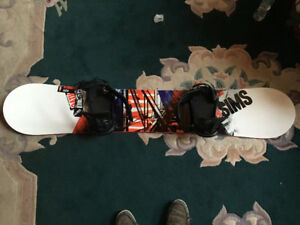 SIMS Oath Snowboard 157 with K2 Bindings and Firefly Boots