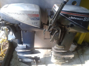 2 ..9.9 Johnsons and Evinrude motor