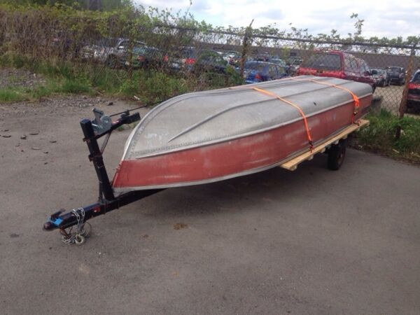 1200 Other 12 foot boat and 16 foot trailer