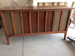 Antique Stereo cabinet.