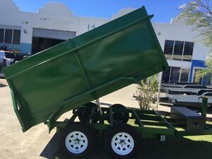 AUSSIE BUILT 9X5 2.9TON HYDRAULIC TIPPER TRAILER WITH 1.1M SIDES Warwick Southern Downs Preview