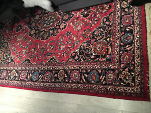Persian rug-perfect condition costed thousands 20 years ago.
