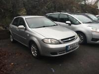 Chevrolet Lacetti 1.6 SX 5 dr silver 1 previous owner