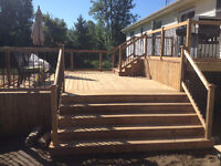 Decks/Renovations and New Builds! Contact for free estimates