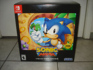 NEW Sonic Mania Switch Game!!!
