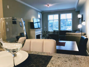 Luxury Condo Overlooking Old Downtown Abbotsford Mt. Baker Views