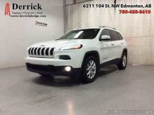 2016 Jeep Cherokee Used 4WD North Sunroof Keyless N'Go $233 B/W