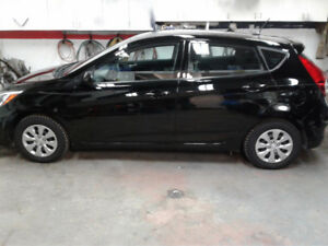 2015 HYUNDAI ACCENT GS SEDAN COME WITH EXTENDED WARRANTY