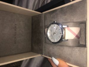Authentic burberry watch for sale