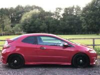 2010 Red Honda Civic Type R GT 100K 10 Service Stamps Dec MOT FREE DELIVERY 50 M