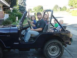 Jeep cj5 pour les collectionneurs !