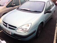 SPARES OR REPAIR Citroen C5 2.0HDi 90hp 52 REG LX