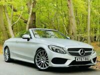 2018 Mercedes-Benz C250 AMG Line (Premium Plus) Cabriolet G-Tronic+ (s/s) 2d Aut