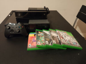 Xbox One with KINECT & Games for $200