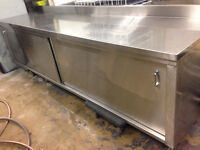 Commercial Stainless steel Cabinet /table 10ft