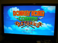 clean wii + Donkey Kong Country Returns - $85 (Kingsway/Slocan,