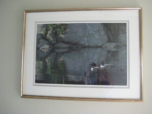 Ltd Edition Robert Bateman Kawartha Lakes Peterborough Area image 1