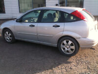 2002 Ford Focus certified and e tested Sedan