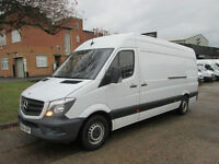 2014 14-REG Mercedes Sprinter 2.1TD 313CDI LWB HIGH ROOF. LOW 50,000 MILES. FSH.