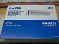 NEW YAMAHA BRAVO snowmobile owners manual  $20.00