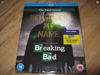 Breaking bad Blu Ray final season sealed