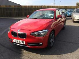 BMW 116 2.0TD ( bhp ) ( s/s ) Sports Hatch d Sport 2014 64 Reg 5 Dr Hatchback