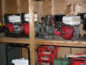 HONDA SIDE SHAFT AIR COOLED ENGINES  9 HP AND 11 HP