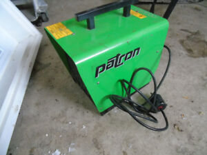 patron E3000 electric heater cost $550  can deliver west end