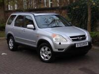 AA WARRANTY! 2003 HONDA Cr-V 2.0 i-VTEC EXECUTIVE STATION WAGON 5dr AUTO,