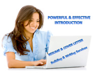 Powerful introduction  - Resume & Cover Letter Writing Services
