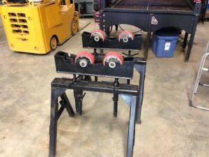 Double Roller Pipe Stands