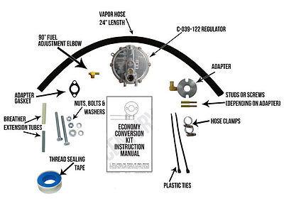 DuroMax XP10000E Natural Gas / Propane Conversion ...