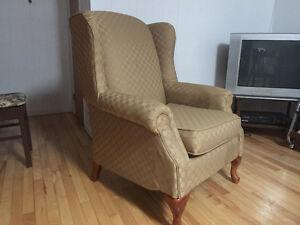 Fauteuil / Chaise bergère