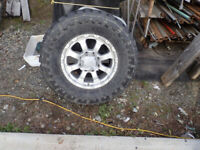 18 inch Truck tire and wheel