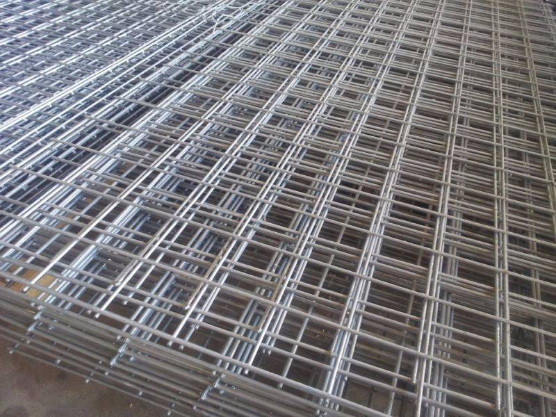 Galvanized Welded wire mesh sheet 1.2M*2.4M 100MM*100MM*2.8MM ...