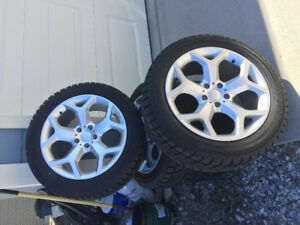 BMW X5 tires and rims