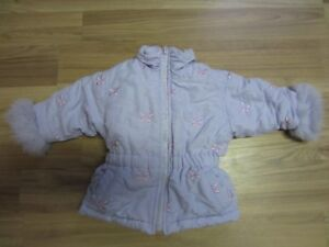 """BABY GIRLS """"BIG CHILL"""" JACKET - SIZE 12 MONTHS - LIKE NEW!"""