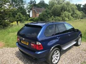 "2004 BMW X5 S 4.8is Sat Nav + Pan Roof + New Mot + Full History + 20"" Alloys"