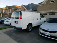 Cargo van services, deliveries, junk removal free quote