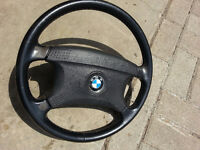 BMW E36 3 Series Four Spoke Steering Wheel with SRS Airbag OEM